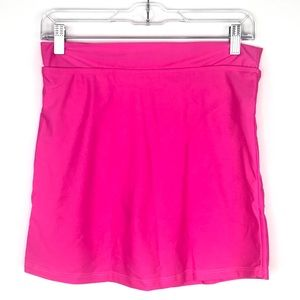 Other - NWT Womens Hot Pink Skirt Swim Suit Tennis Skirt